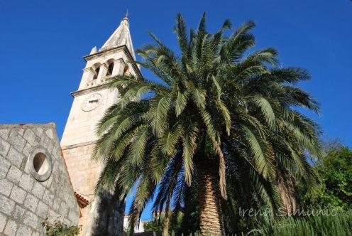 Splitska, crkva Blažena Djevica Marija u Stomorni