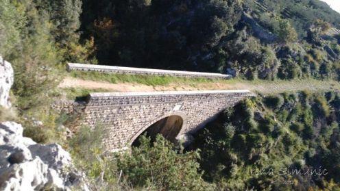 Ložišća - the Franjo Joseph bridge / most Franje Josipa