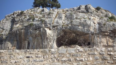 Pustinja Blaca, pećina, detalj