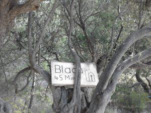 Pustinja Blaca, uvala Blaca