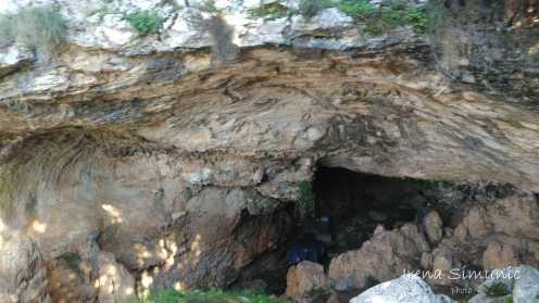 cave Kopačina, špilja Kopačina, island Brač, otok Brač, Donji Humac