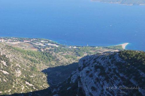 Vidova gora - view at Bol / Vidova gora - pogled na Bol